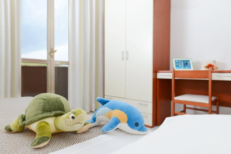 Hotel 3 stelle camere family Tagliata Cervia